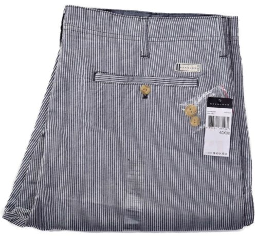 Sean John Men/'s $69.50 Casual Stripe Indigo Pants Choose Size