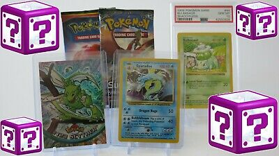 Offer of 100+ Guaranteed Original WOTC Cards Pokemon mystery boxes Shadowless