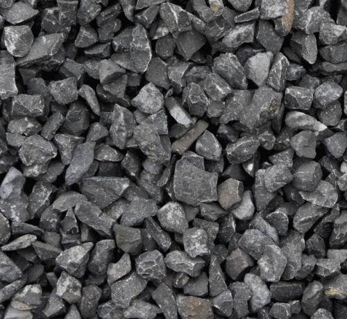 Grit Marble Black Ebony 8//12 mm 10 KG Rocks stones garden decoration X