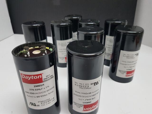 DAYTON 2MDR9 Motor Start Capacitor,233-280 MFD,Round