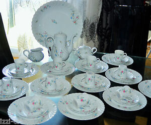 Antique-Service-Coffee-and-Dessert-Porcelain-Twisted-Haviland-Limoges-12PERS