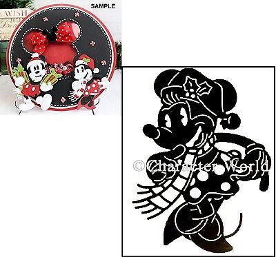 Character World cutting dies Christmas Minnie Mouse Disney metal die DUS0102