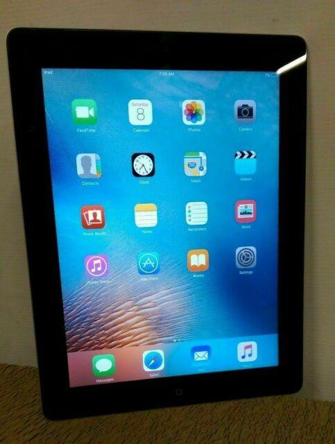 Utilisé Apple iPad 2 16 Go, Wi-Fi + Bluetooth, 9.7 in (environ 24.64 cm) - noir + argent