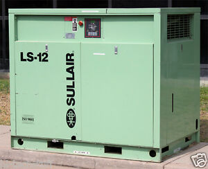 sullair corporation ls 12 40l industrial air compressor ls 12 40l rh ebay com Sullair 185 Cover Sullair Parts Manual