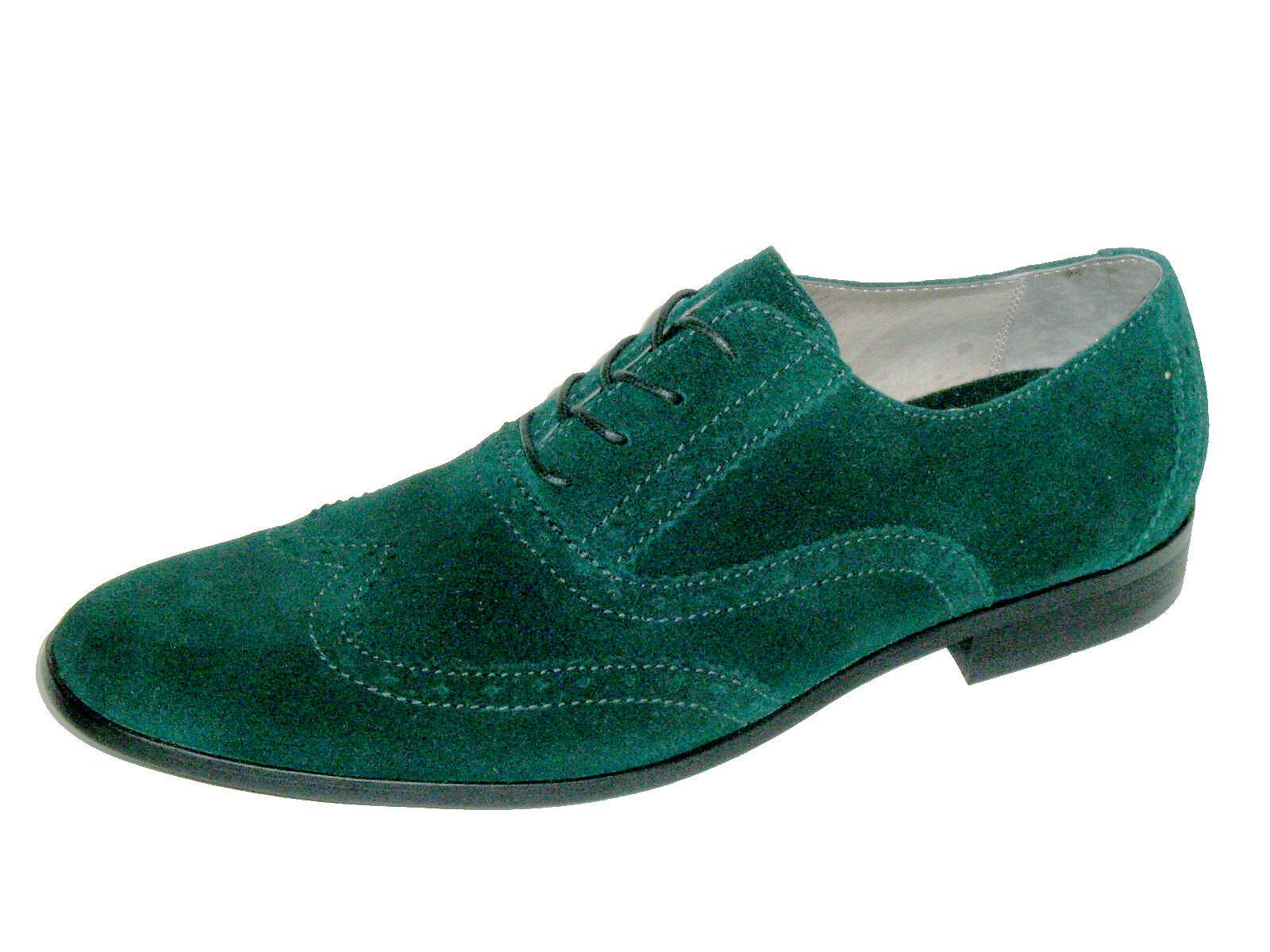 Original Penguin Men's shoes Wing Suede Pondepink Pine Wingtip Oxford Size 9 New