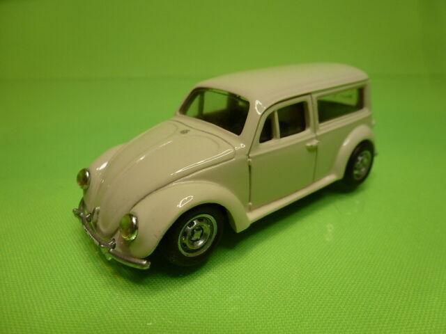 MF RESIN KIT  built  VW VOLKSWAGEN BEETLE - BROKEN bianca  1:43 - RARE - GOOD COND