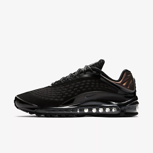 Men's Nike Air Max Deluxe shoes - Black Dark Grey