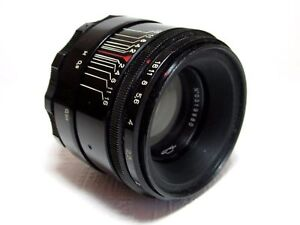 HELIOS-44-58mm-F2-M39-PENTAX-ZENIT-CANONVERY-Good-Condition-VERY-RARE