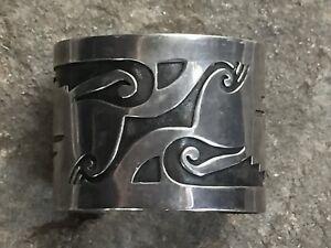 Vintage-Overlay-Cuff-Hopi-Style-Serpent-Design