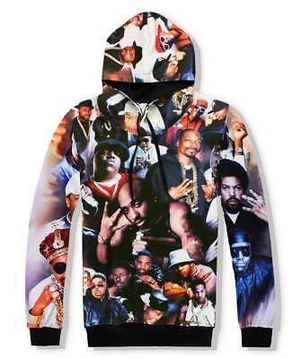 New Fashion Women//Men Tupac 2Pac 3D Print  Pullover Hoodie Sweatshirt ST19