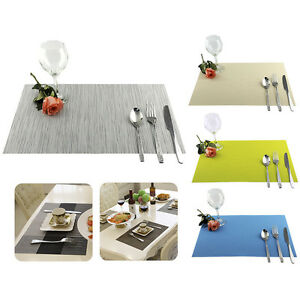 Kitchen Insulation Bowl Placemats Dining Pad Western-style Food Table Mats