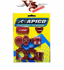 APICO FACTORY BLING PACK KIT CRF250R 04-09 CRF250X 04-17 CRF450R 04-08 RED