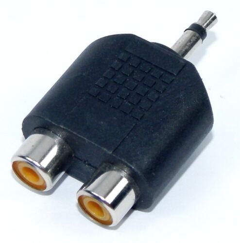 mono a due prese RCA Adattatore da spina jack 3,5 mm AD155
