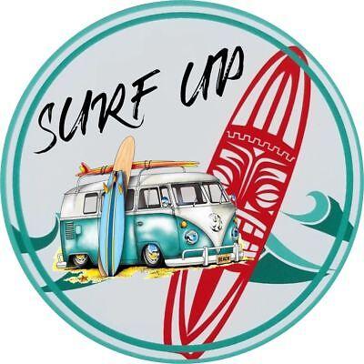 Surf/'s Up Surfing Vinyl Decal Car Sticker JDM Transporter Camper Surf T5 T4 T3