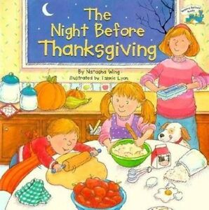 The-Night-Before-Thanksgiving-Reading-Railroad-Books-Wing-Natasha-New-condi