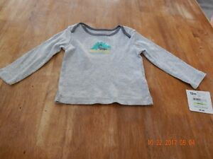 56b485b0 Child Of Mine By Carter's : Boys 12 Months Long Sleeve Shirt ...