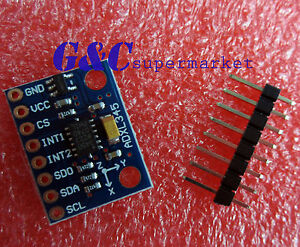 5PCS ADXL345 3-Axis Digital Acceleration of Gravity Tilt Module for Arduino M