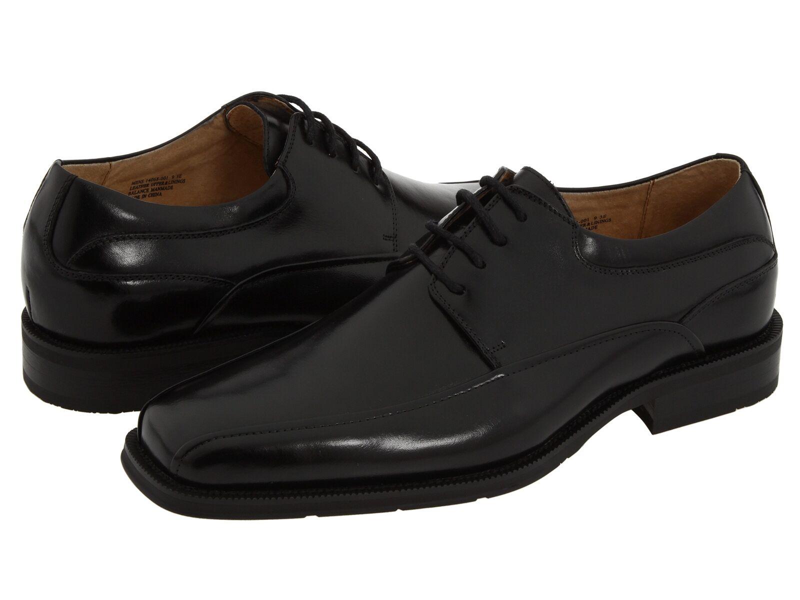 Florsheim Homme Curtis en Cuir à Lacets Chaussures Noires 14068-001