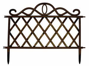 Alerte Nouveau Venise Frontière Bronze Pelouse Bordure De Jardin Set Fleur Verrouillage Panneaux-afficher Le Titre D'origine Plus De Rabais Sur Les Surprises