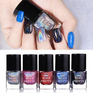 6ml-BORN-PRETTY-Holographic-Nail-Stamping-Polish-Varnish-For-Stamping