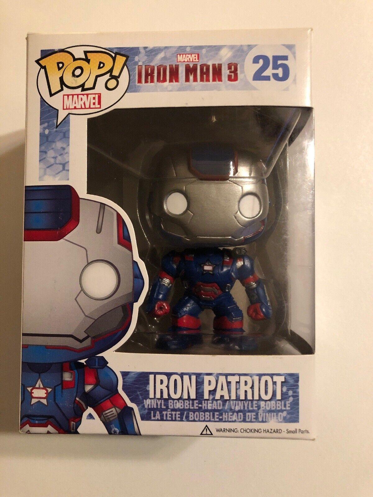 Funko POP Movies Marvel Iron Patriot 25 FREE SHIP