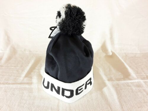 Details about  /*NEW*Boys/' Under Armour Gametime Pom Beanie *ColdGear*Youth*Black /& Summit White