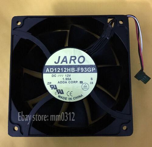 1PC JARO AD1212HB-F93GP 12038 12V 1.95A 200CFM 120mm 38mm Cooling fan 3pin