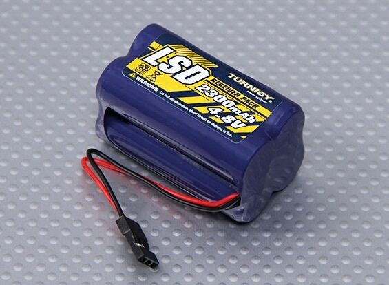 Turnigy Receiver Pack 2300mAh 4.8v NiMH square pack  4 cell