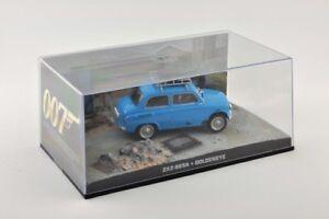 MODELCAR-Diecast-1-43-Diorama-Fiat-965-un-azul-de-James-Bond-007-Goldeneye