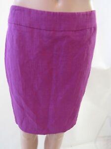 Gonna taglia 4 Armani Blend Purple diritta Silk zqWrUwzgP