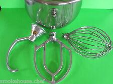 Everything For The Hobart C100 Mixer Bowl Hook Beater Amp Whip Whisk 10 Quart