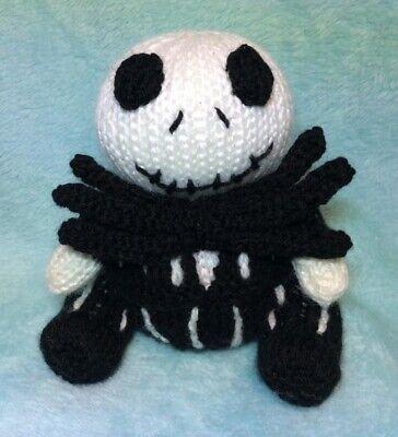 Jack Skellington Pattern - Free Pattern — Crazy Crochet Lady   400x364