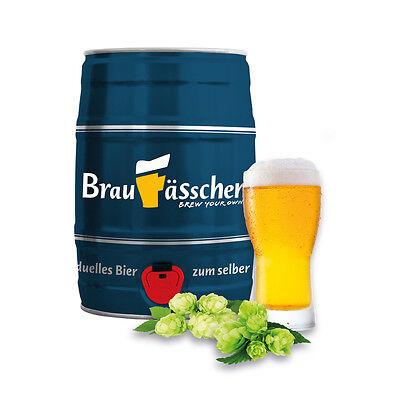 Braufässchen Bierbrauset Geschenkset INDIAN PALE ALE zum selber brauen / 5 Liter