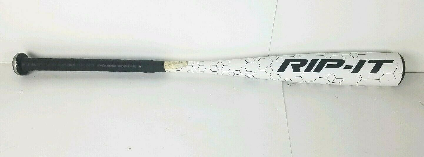 Rip It Element Baseball Bat SL10B 31 21oz Senior League One Big Barrel Weiß