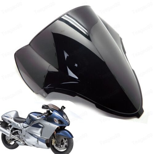 Double Bubble Windscreen Windshield for Suzuki Hayabusa GSXR1300R 1999-2007 New