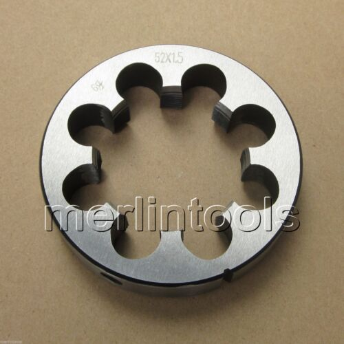 52mm x 1.5 Metric Right hand Thread Die M52 x 1.5mm Pitch