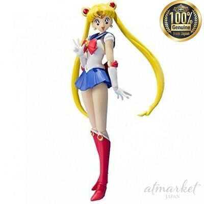 Obliging Sailor Moon Figur S.h.fuuarts Original Animierter Farbe Puppe Von Japan Neu Action Figures