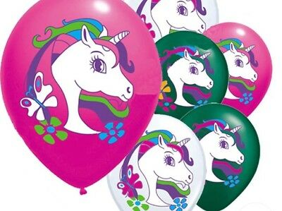 18 Fantasy Unicorns STICKERS Party Favors Birthday Loot Treat Bags