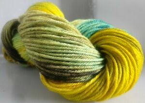 195g-OF-HAND-DYED-DK-100-POLWARTH-KNITTING-WOOL-CW-TEMPEST