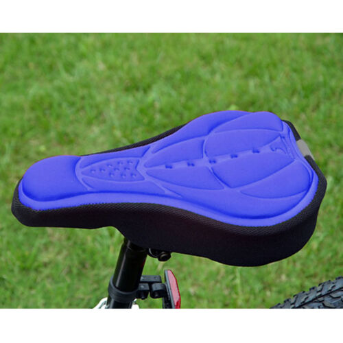Outdoor Cycling Bicycle Bike Seat Cover Cushion Soft 3D Soft Silicone Padded