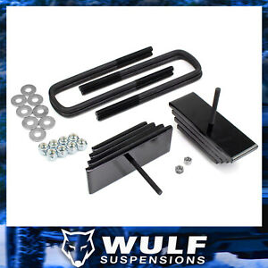 2-8-034-Front-Mini-Leaf-Leveling-Lift-Kit-For-1999-2004-Ford-F250-Super-Duty-4X4