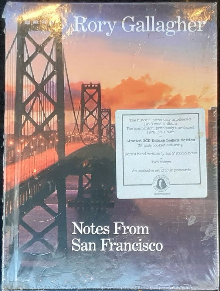 Rory Gallagher: Notes from San Francisco - , blues