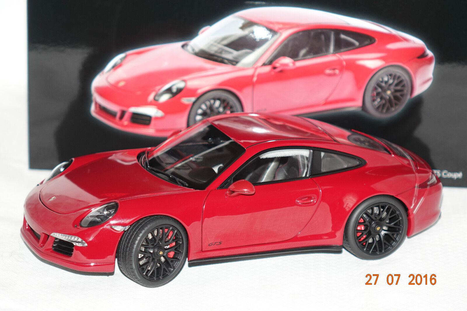 Porsche 911 Carrera GTS Coupe el colorado pueden 1 18 Schuco nuevo & OVP 390
