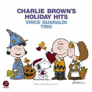 Vince Guaraldi Trio Charlie Brown S Holiday Hits Peanuts