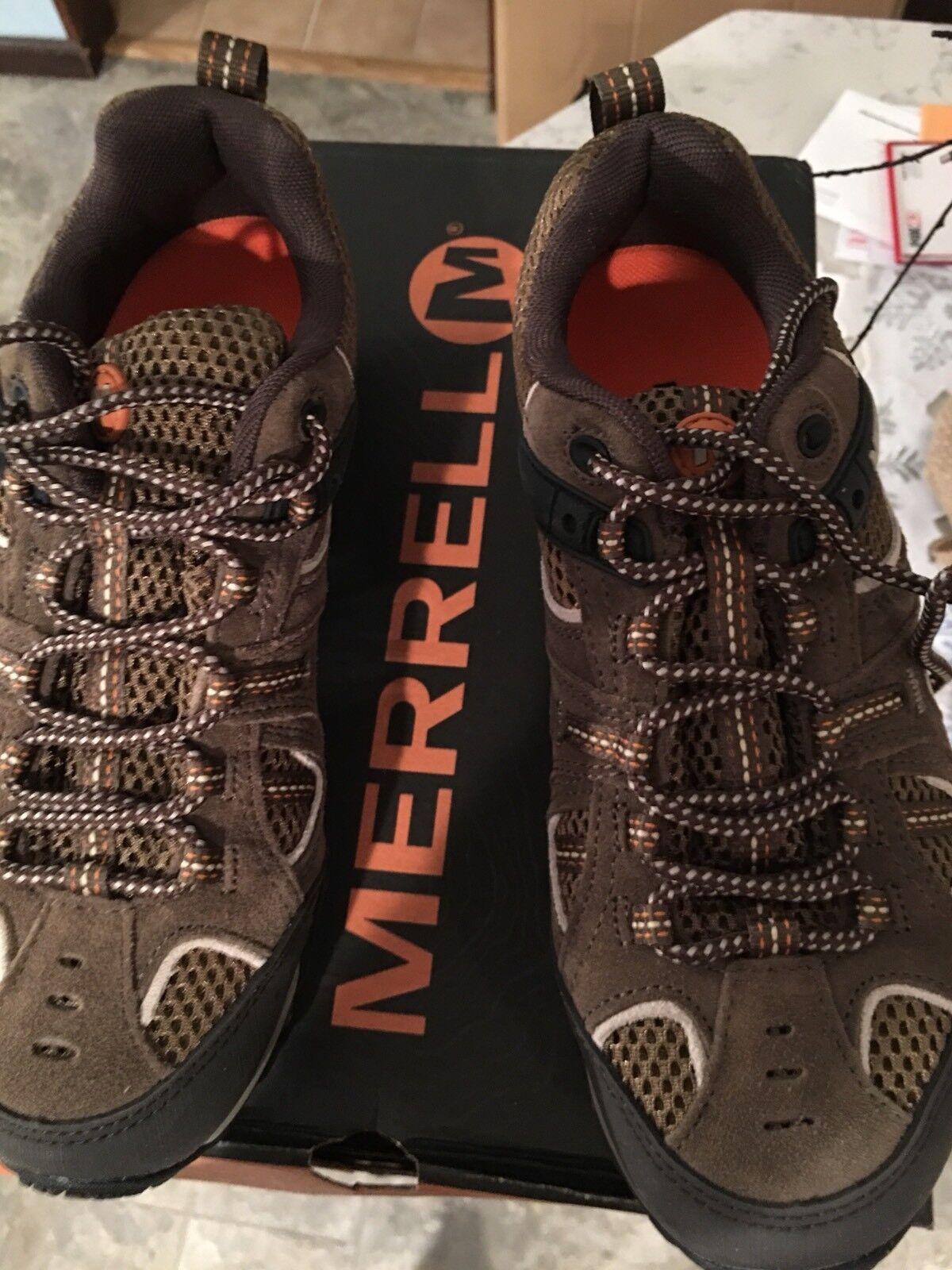 Merrell Yokota Trail Ventilador Senderismo Zapatos para hombre 7.5 Nuevo En Caja