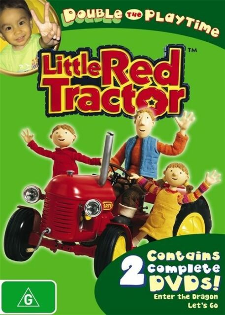 Little Red Tractor - Let's Go / Enter The Dragon (DVD) RARE