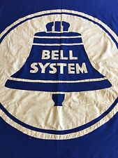 ANTIQUE***BELL SYSTEMS FLAG***(4x6) BELL TELEPHONE, AT&T, PHONE COMPANY