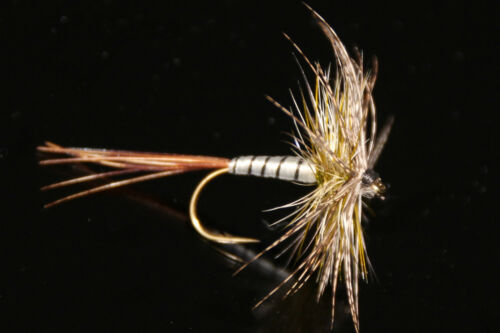 PERDRIX OLIVE mouche SERENITY qty//taille dry fly mayfly flies partridge