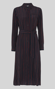 unequal in performance new appearance super cheap Details about Whistles - Multicolour Stripe Shirt Dress - New With Tag -  Size 14 - Women