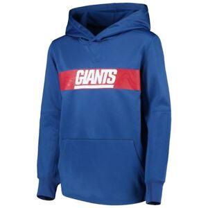 c72c44473 New York Giants Youth Boys Nike Sideline Pullover Hoody Sweatshirt ...